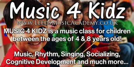 Music Classes For Preschoolers (South Leeds) | Free Trials tickets