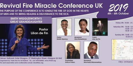 Revival Fire Miracle ConferenceUK tickets