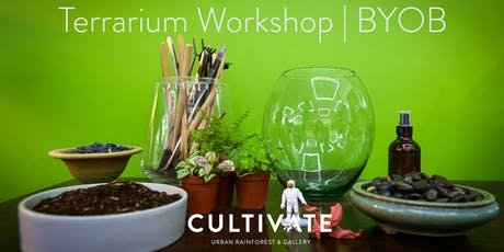 Terrarium Workshop (Always BYOB)  tickets