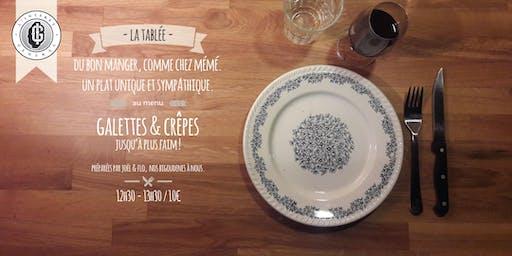 """La tablée - Edition spéciale """"Open Crêpes"""" 08/09"""