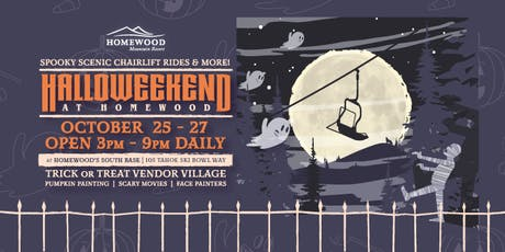 Halloweekends at Homewood tickets