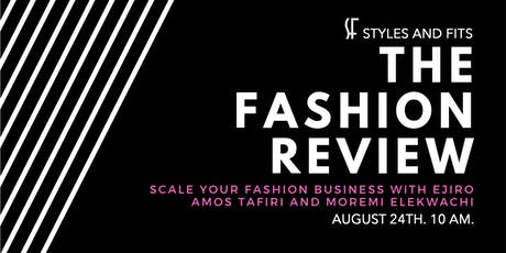 The Fashion Review 1.0 tickets