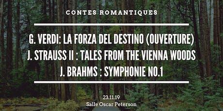 L'OSI présente Contes romantiques tickets