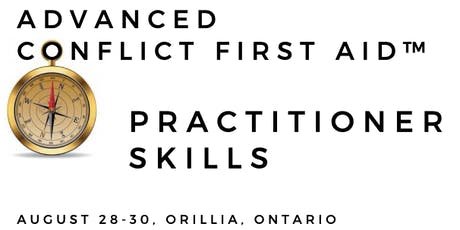 Advanced CONFLICT FIRST AID™ Practitioner Training tickets
