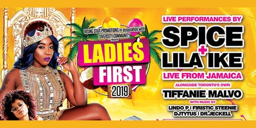 LADIES FIRST CONCERT 2019 FEAT. SPICE & LILA IKE LIVE