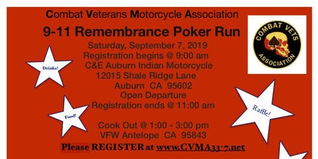 9 11 Remembrance Ride tickets