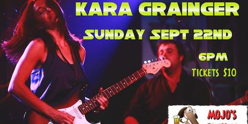 Kara Grainger at mojo's