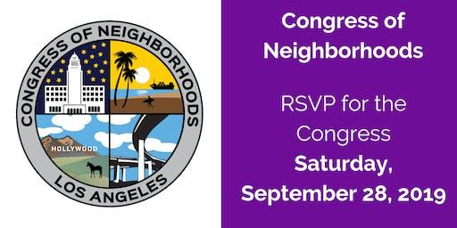 Congress of Neighborhoods 2019
