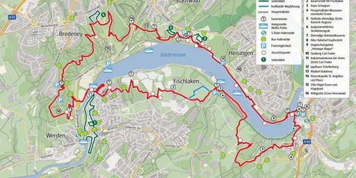 Der Baldeneysteig für Einsteiger (flex. 15 oder 18,5 km)