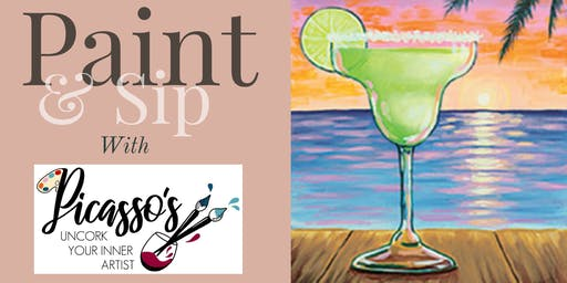 Paint & Sip Party With Picasso's