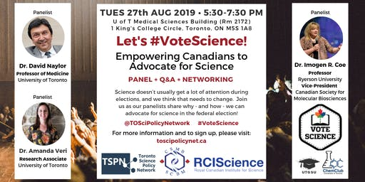 Let's #VoteScience: Empowering Canadians to advocate for science