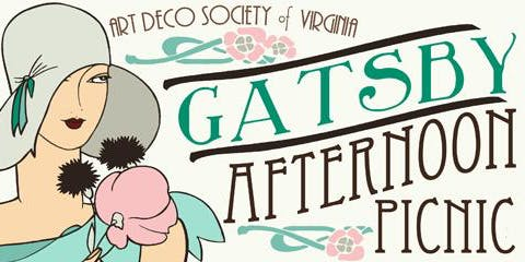 The Art Deco Society of Virginia's 8th Annual Gatsby Afternoon Picnic