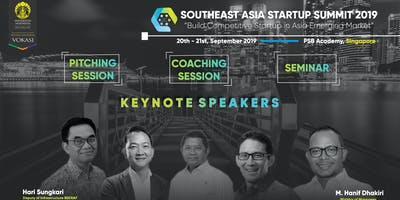 SOUTHEAST ASIA STARTUP SUMMIT 2019