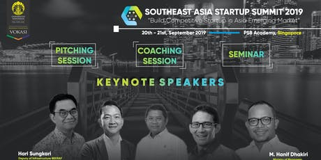 SOUTHEAST ASIA STARTUP SUMMIT 2019 tickets
