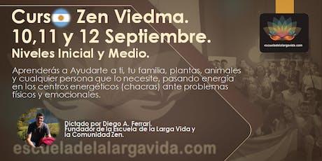 Curso Zen en Viedma: 10,11 y 12 Septiembre. entradas