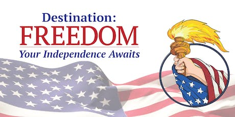 FREEDOM: It's Time To Claim Your Independence! - September Meeting tickets
