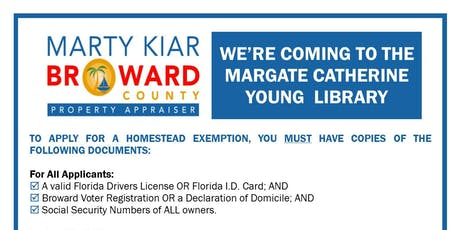 Broward County Property Appraisers Information Table tickets