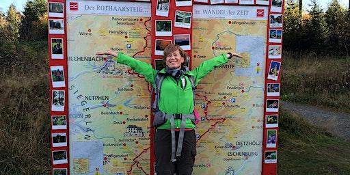 HEIMSPIEL: Wandertag für Fortgeschrittene auf dem Rothaarsteig 25km, Hm: 690