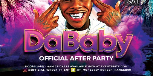 Da Baby Official After Party