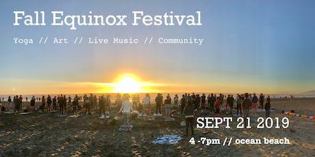 Fall Equinox Festival :: Yoga // Art // Live Music // Community tickets