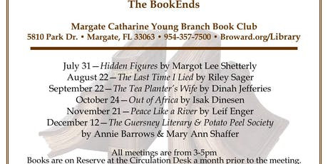 The BookEnds - Margate Book Club tickets