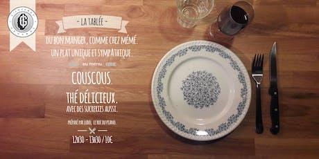 La tablée - Edition Couscous préparée par Ludo billets