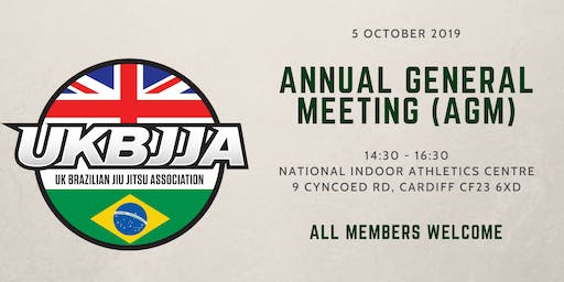 UKBJJA Annual General Meeting (AGM) 2019