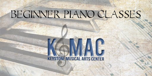 Beginner Piano Extension class