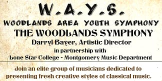 Woodlands Symphony and Woodlands Area Youth Symphony Auditions