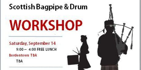 GTPB Bagpipe and Drum Workshop tickets