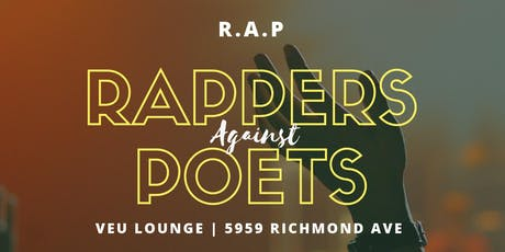 RAPPERS AGAINST POETS @ VEU | 7P SUN SEPT 22ND tickets
