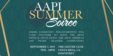 AAPI Summer Soiree tickets
