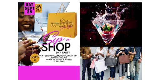 Sip & Shop Day Party