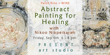 Paint Nite + Wine: Abstract Art for Healing tickets
