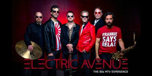 Electric Avenue - Late Show Dance Party!  Approaching Sellout - Buy Now!