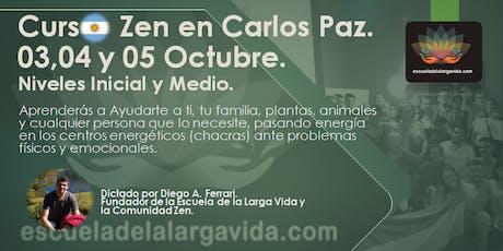 Curso Zen en Carlos Paz: 03,04 y 05 Octubre. tickets
