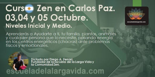 Curso Zen en Carlos Paz: 03,04 y 05 Octubre.
