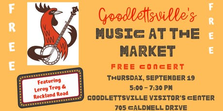 Music at the Market tickets