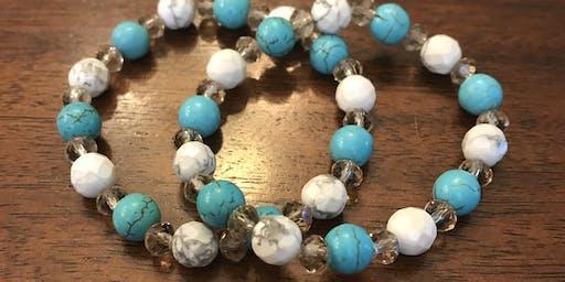 Girls Night Out: Manicures & Custom Bracelets