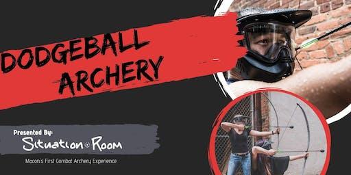 Dodgeball Archery FREE on First Fridays