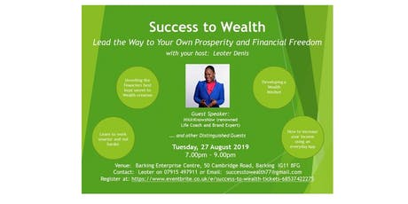Success to Wealth tickets