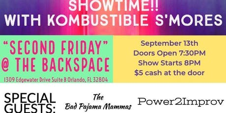 Showtime! With Kombustible S'mores: An evening of long form Improv boletos