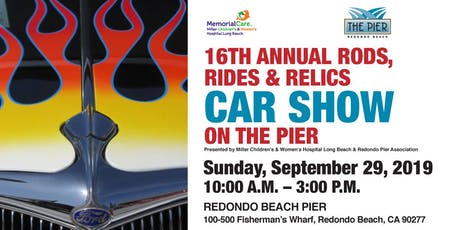 16th Annual Rods, Rides & Relics Car Show on The Pier tickets