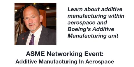 Monthly Meet & Eat: Additive Manufacturing in Aerospace tickets