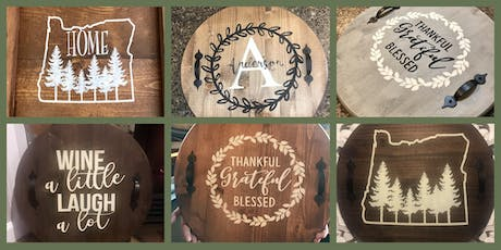 Wood Tray or Lazy Susan Fundraiser for Homeward Bound Pets tickets