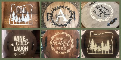 Sold Out: Wood Tray or Lazy Susan Fundraiser for Homeward Bound Pets