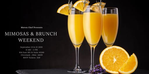 Mimosa and Brunch Weekend