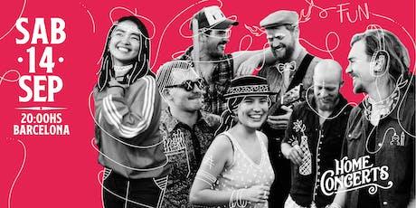 Home Concerts - Barcelona - 14 de Septiembre, 2019 biglietti