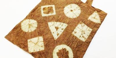Japanese Natural Dye - Shibori Tote Bag Making