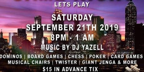 Let's Play Game Night tickets